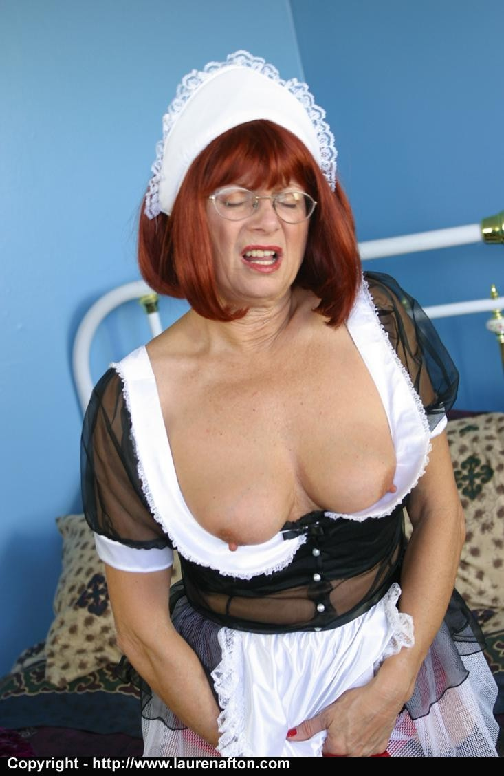 Nasty mature maid