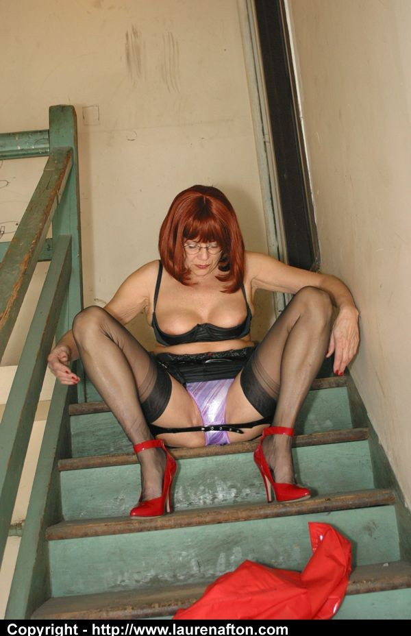 Mature pvc super-bitch